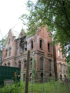 """Wyndclyffe Mansion in Rhinebeck, NY, has been abandoned for over half a century""  by cmmb17, via Flickr"