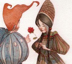 dedominicisagency:  Amazing illustration by Gianluca Garofalo