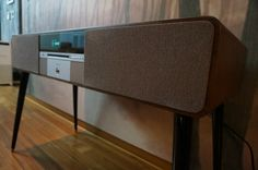 The installation of - Ruarkaudio Credenza, Cool Furniture, Audio, Cabinet, Cool Stuff, Storage, Home Decor, Clothes Stand, Cool Things