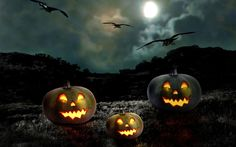 PIXHOME: Halloween scary horror nights scarecrow pumpkin haunted house HD images