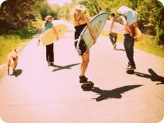 Skaters and Surfers! I'm in love.