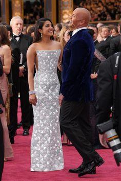 Priyanka Chopra and THE ROCK - 2017 Academy Awards