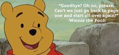 No good bye