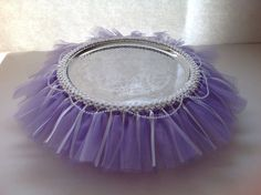 Princess Sofia the First Inspired Cake Stand Tutu by ThePolkaDottedRoom on Etsy https://www.etsy.com/listing/174699030/princess-sofia-the-first-inspired-cake
