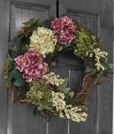 Summer Wreath, Front Door Wreaths, Spring Wreath, Summer Wreaths for Front Door, Outdoor Door Wreaths, Custom XL 24 Wreath, Door Wreathe
