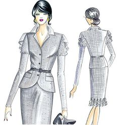 If I had to wear a suit to work, this would break up the monotony.  Sleek!