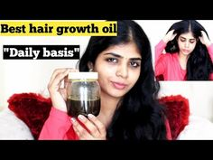 """""""DAILY OIL for hair growth""""(get thick&long hair) Bhel Puri Recipe, Best Hair Growth Oil, Neem Powder, Puri Recipes, How To Get Thick, Hair Care Tips, Hair Oil, Healthy Life, Cool Hairstyles"""