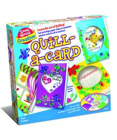 Love this Quill-a-Card Craft Set by Small World Toys on #zulily! #zulilyfinds
