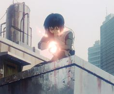 Ghost in the Shell animated GIF 攻殻機動隊 Everything Is Temporary, Masamune Shirow, Motoko Kusanagi, Another Part Of Me, Anime Fight, Ghost In The Shell, Illustrations, Les Oeuvres, Animated Gif