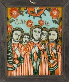 Religious Art, Ethiopia, Religion, Mexican, Glass, Pictures, Painting, Saints, Photos
