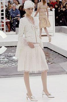 Chanel Spring 2005 Couture Fashion Show - Caroline Trentini (Elite)