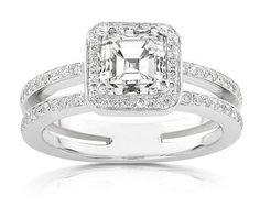 Diamond engagement ring - My wedding ideas