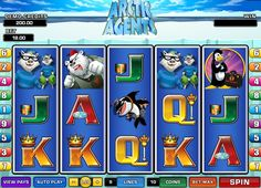 Arctic Agents provides players with 5 reels and 9 paylines. Images in this game are amazing. Penguin with gun,looking as a small variation of James Bond, white angry polar bear, wearing red hat and pirate eye tie and  polar foxes,which reminds bank robbers. If you're looking for a great free slot with beautiful visuals and big prizes, Arctic Agents is your choice!