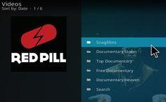 Steps to Install Red Pill Documentary Add-on Kodi 17.1 Krypton | WirelesSHack