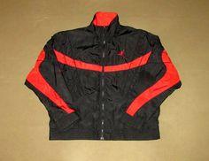 b9a3f0843966 Vintage Air Jordan Jacket Flight Nike Large Chicago Bulls Michael Basketball