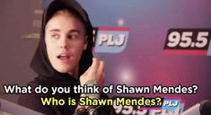 """Shawn Mendes Responded To Justin Bieber's 2015 """"Who's Shawn Mendes?"""" Remark"""