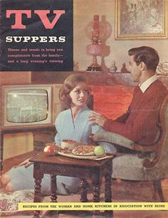It's so refreshing to see what most families consider their shameful secret given the dignity of 1960s elegance. Eating on the floor while watching game shows does not make you less of a person.