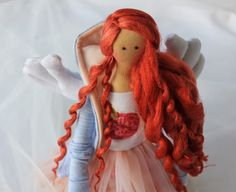 Red Hair Doll by MyBellaDolls on Etsy