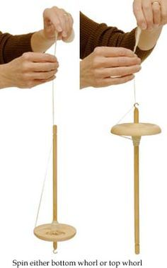 Schacht Hi-Lo Drop Spindle Diy Spinning Wheel, Spinning Wool, Hand Spinning, Spinning Wheels, Fabric Art, Woven Fabric, Wool And The Gang, Drop Spindle, Yarn Thread