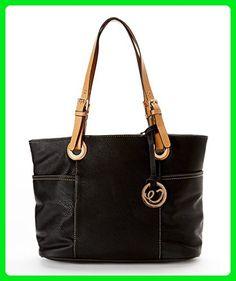 Tote Handbag ~ Tote Bag For Women ~ Tote Purse ~ Multi Pocket Tote Handbag ~ Tote Handbag with Adjustable Shoulder Strap ~ Tote Bag ~ Tote For Women ~ Beautiful Tote Handbag ~ MAMA Tote Bag ~ By MKF Collection Tote Handbag - Shoulder bags (*Amazon Partner-Link)
