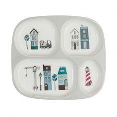 Village compartmentalised plate  Sebra