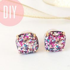 34 Sparkly DIY Ideas For Anyone Whose Favorite Color Is Glitter