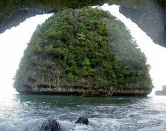 Amazing Island Waterfalls