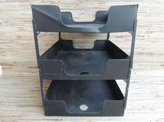 Check out this item in my Etsy shop https://www.etsy.com/listing/519369043/vintage-industrial-black-metal-office