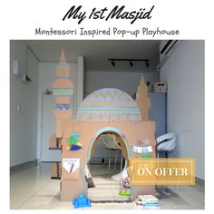 Fun Crafts, Diy And Crafts, Eid Ideas, Eid Gift, Ramadan Crafts, Islam For Kids, Creative Play, Diy Toys, Play Houses