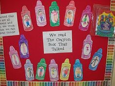 """We are all like crayons, different, but together we make a beautiful picture! Great idea for MLK celebration. book...""""The Crayon Box That Talked"""""""