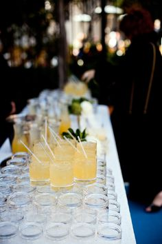 Shannon Leahy Events - San Francisco Wedding - James Leary Flood Mansion - Signature Drink - Cocktails