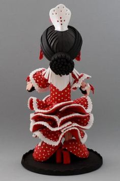 fofucha gitana flamenca  goma eva termoformado