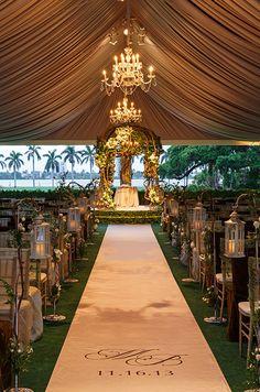 Outdoor Wedding Tents, Decor Inspiration || Colin Cowie Weddings