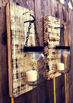 Mason jar lanterns #1