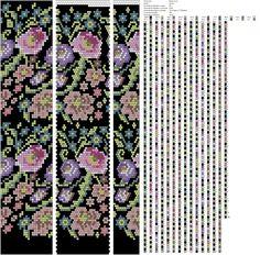 Photo by Alexandra Markovic Bead Crochet Patterns, Seed Bead Patterns, Bead Crochet Rope, Beaded Jewelry Patterns, Peyote Patterns, Beading Patterns, Beaded Crochet, Crochet Beaded Bracelets, Bead Loom Bracelets