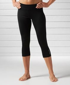 Reebok Workout Ready Colorblocked Capri Leggings