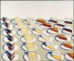 Wayne Thiebaud - Pie Counter, 1963. Oil on canvas \\ love this artist