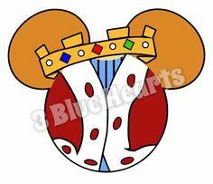 Prince John MickeyHead, Robin Hood SVG, Robin HOod Mickey Head, Disney SVG, Robin Hood SVG, Prince John Svg