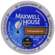 Maxwell House House Blend Coffee, 48 Count -- A special product just for you. See it now! : K Cups