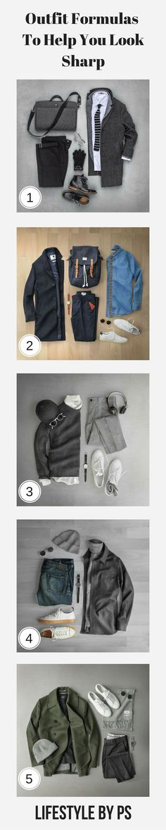 OUTFIT GRIDS FOR MEN  #mens #fashion