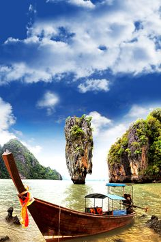 James Bond Island, Phang Nga, Thailand   10 Idyllic Surreal Places that Make Thailand One of the Most Beautiful Countries in The World