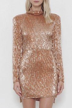 5dec9c22e8 Latiste Gold Sequin Dress from New York City by Dor L Dor — Shoptiques  Sequin