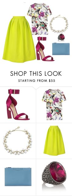 """""""I'm Ready For Spring!!!"""" by style-nerd ❤ liked on Polyvore featuring Nicholas Kirkwood, Mary Katrantzou, Anne Klein, TIBI, Givenchy and Kenneth Jay Lane"""