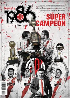 Super Campeon #River Soccer, Football, Plates, Jokers, Fifa, Amor, Hs Sports, Licence Plates, Futbol