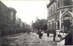 Poplar high street Victorian London, Vintage London, Old London, Jennifer Worth, Irish Catholic, East End London, London Street, Ann, Street View