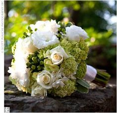 White & Green Bouquet & Bout Inspiration? :  wedding bouquet flowers green inspiration white Bouquet Weebly 2