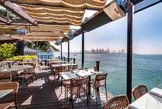 The Best Waterfront Restaurants in San Diego | Grab a seat on the bay at C Level's outdoor patio to enjoy excellent views of Coronado and the San Diego skyline.