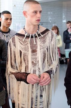 Sibling SS15 03/21 Paul Carrigan (Storm) at Sibling SS15 Photography Russ McClintock