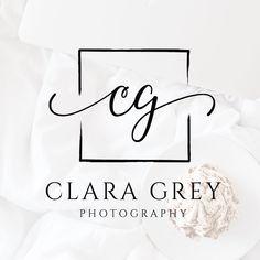 new Ideas photography studio logo design etsy Logo Inspiration, Wedding Logo Design, Wedding Logos, Elegant Logo Design, Studio Logo, Tableau Logo, Calligraphy Logo, Lettering, Vintage Logos