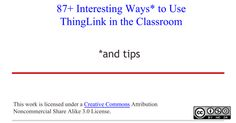 ThingLink in the Classroom